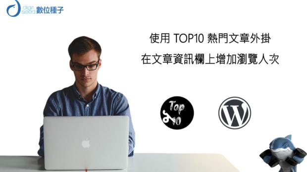WordPress Top 10 熱門文章外掛 - 使用 Top 10 在文章資訊欄上增加瀏覽人次